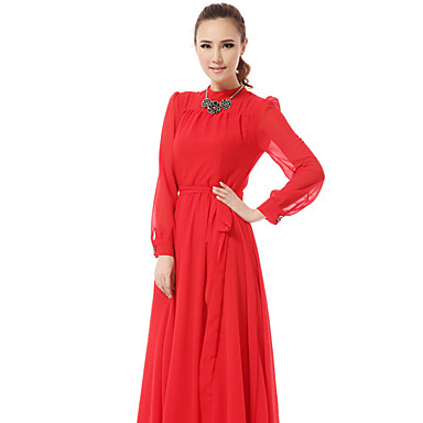 women-s-pleats-puff-sleeve-chiffon-midi-dresses-with-self-belt_qrccvv1375084123272