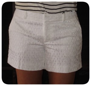 Banana Republic Eyelet Shorts