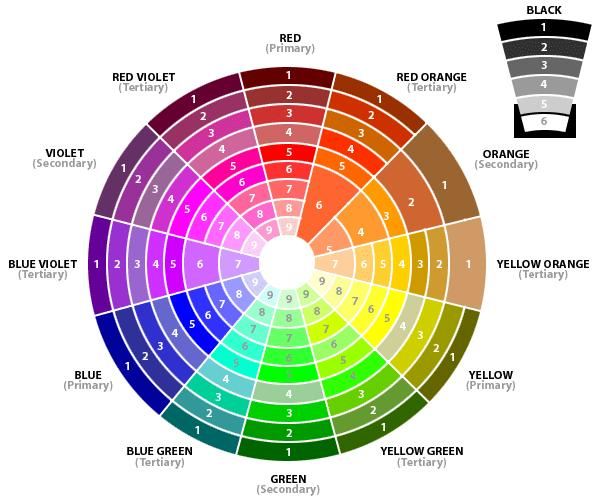 Fashion Color Wheel
