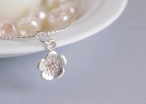 Buttercup Flower Pendant